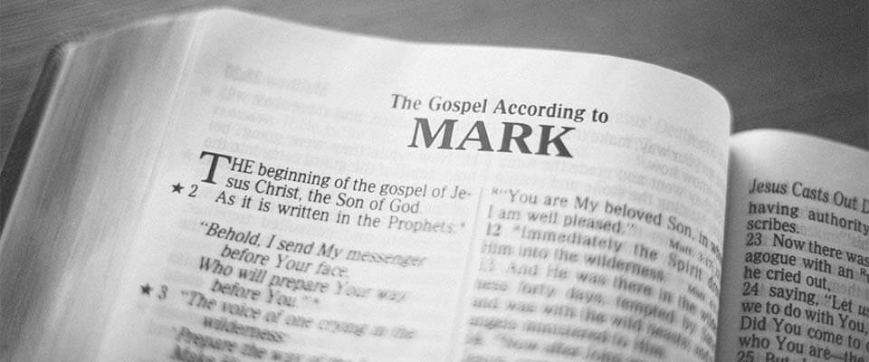 Image result for Gospel of Mark