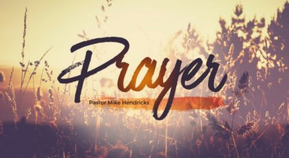 Prayer: Giving Thanks
